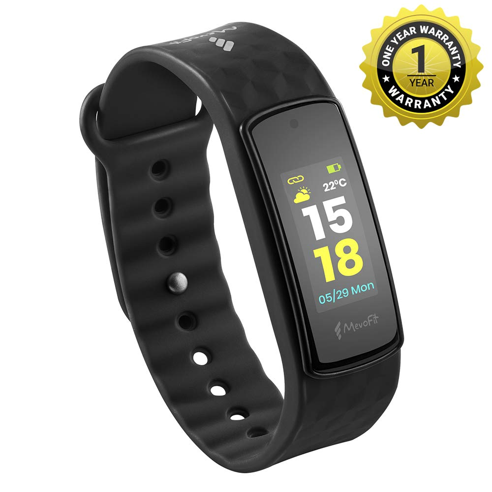 best fitness band in india : Mevofit Bold HR Fitness Band