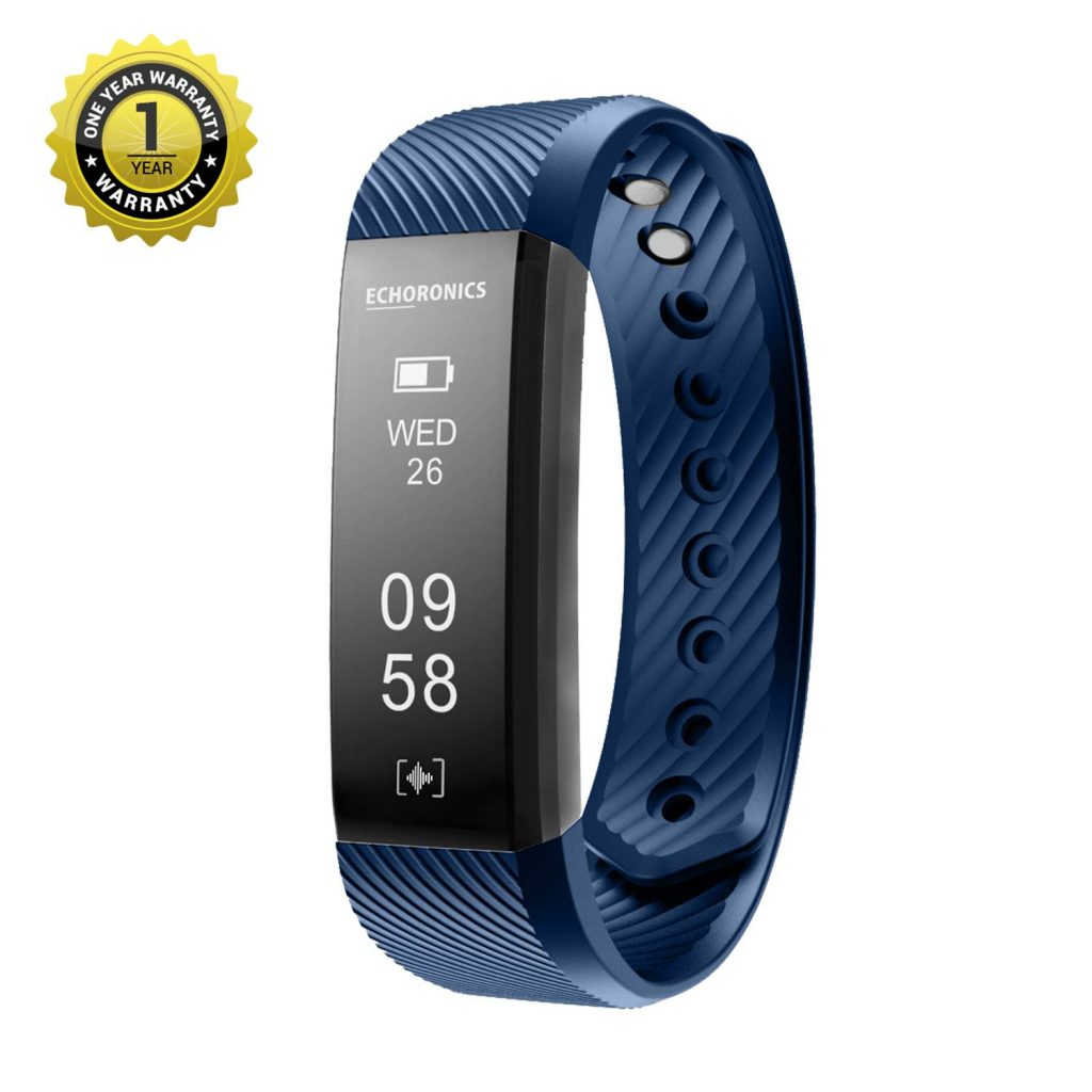 Fitness Tracker : Mevofit Echo Dash HR is best fitness band in india